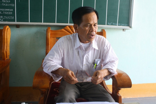 Cô giáo Thảo tường trình vụ đánh bầm mông 10 học sinh - 4