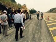 Tin tức trong ngày - Khắc phục xong 22 vệt lún cao tốc Nội Bài - Lào Cai
