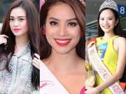 """Thời trang - Những mỹ nhân Việt dính scandal thi sắc đẹp """"chui"""""""