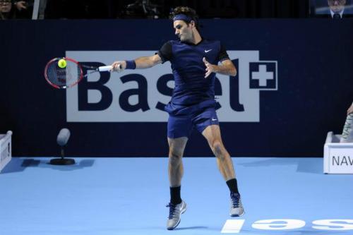 Federer - Goffin: Không đơn giản (Tứ kết Basel Open) - 1