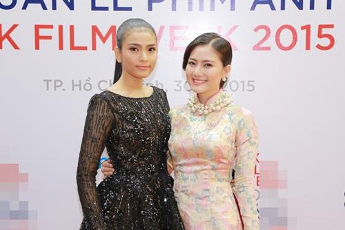 Trương Thị May diện đầm đen vẫn trẻ trung, nổi bật - 6