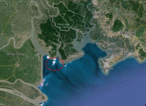 Tàu chìm ở Cần Giờ: Cuộc tìm kiếm gặp bế tắc - 1