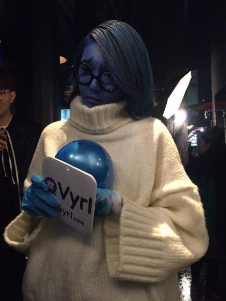 Phong cách Halloween vừa yêu vừa sợ của sao Hàn - 6