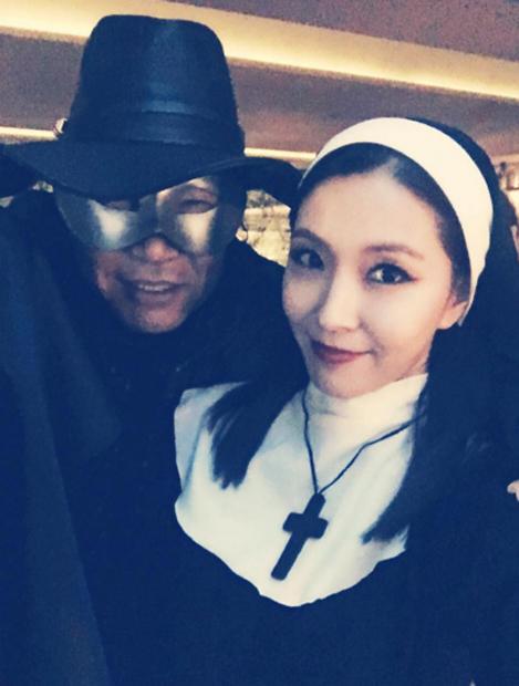 Phong cách Halloween vừa yêu vừa sợ của sao Hàn - 7