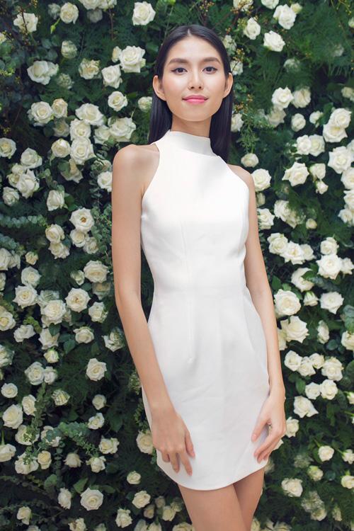 Lan Khuê diện váy lạ trước thềm Miss World 2015 - 9