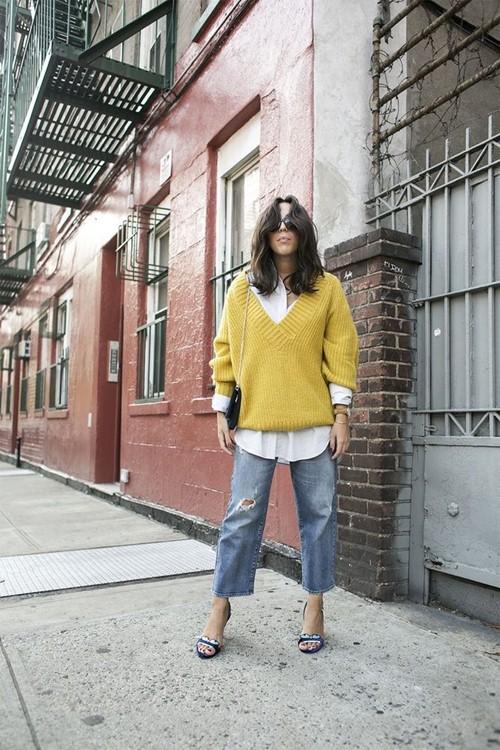1446260279 1446195950 12 Quần jeans ống lửng hớp hồn phái đẹp toàn thế giới