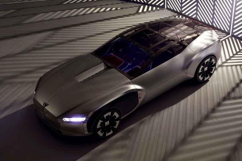 Lạ lẫm với phiên bản Renault Coupe Corbusier Concept - 1