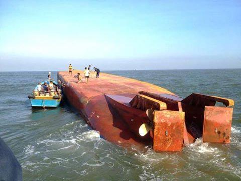 Tàu chìm ở Cần Giờ: Cuộc tìm kiếm gặp bế tắc - 2