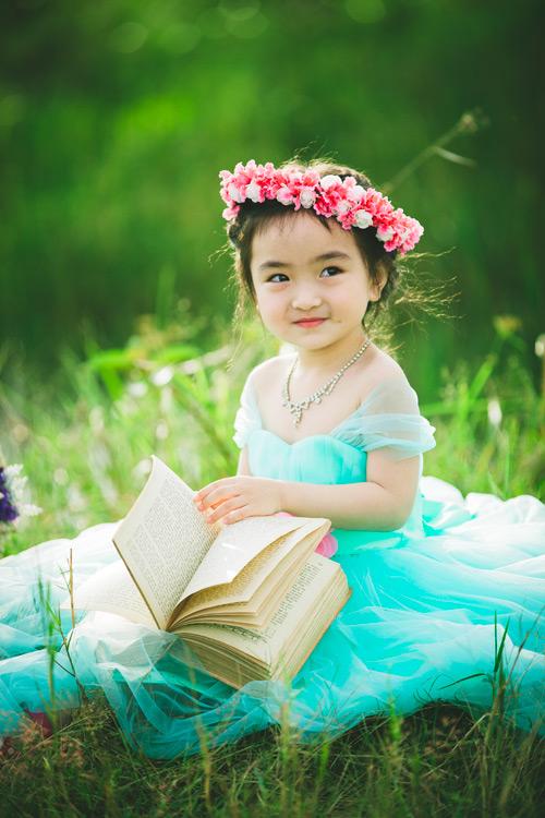 """Bé gái Lâm Đồng đẹp như thiên thần """"đốn tim"""" dân mạng - 10"""