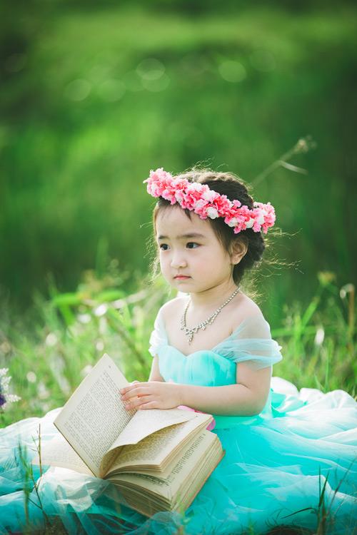 """Bé gái Lâm Đồng đẹp như thiên thần """"đốn tim"""" dân mạng - 11"""