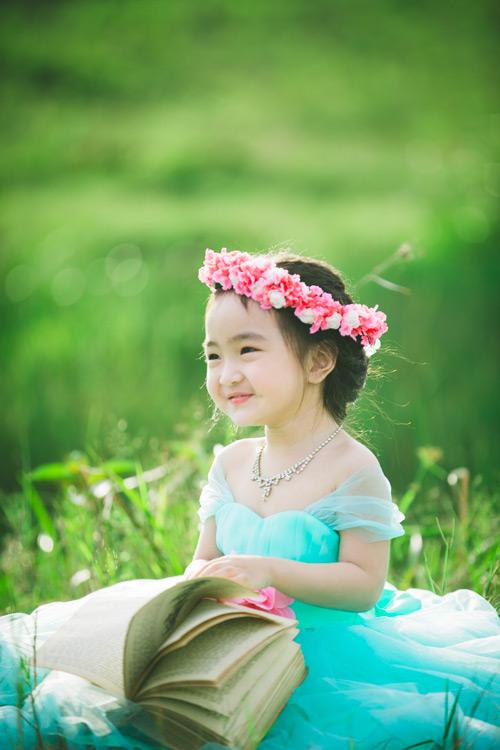 """Bé gái Lâm Đồng đẹp như thiên thần """"đốn tim"""" dân mạng - 12"""