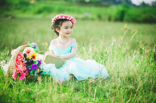 """Bé gái Lâm Đồng đẹp như thiên thần """"đốn tim"""" dân mạng - 13"""