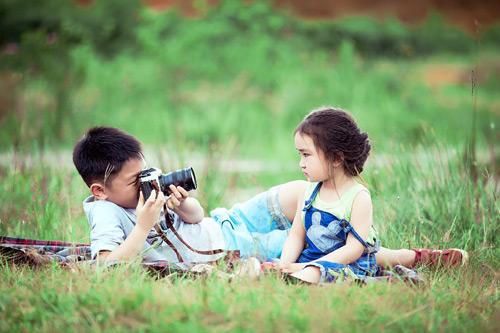 """Bé gái Lâm Đồng đẹp như thiên thần """"đốn tim"""" dân mạng - 14"""
