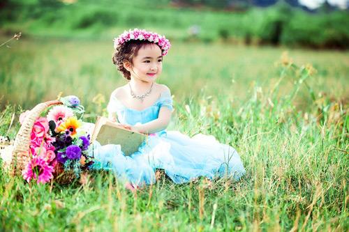 """Bé gái Lâm Đồng đẹp như thiên thần """"đốn tim"""" dân mạng - 4"""