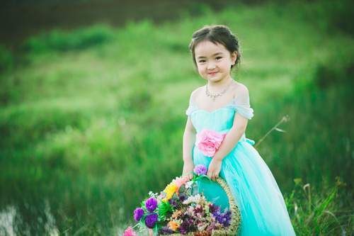 """Bé gái Lâm Đồng đẹp như thiên thần """"đốn tim"""" dân mạng - 8"""