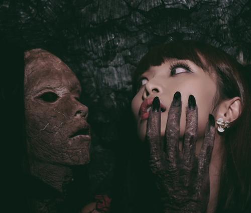 Sởn da gà với ảnh Halloween kinh dị của Lê Kiều Như - 3
