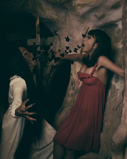 Sởn da gà với ảnh Halloween kinh dị của Lê Kiều Như - 2