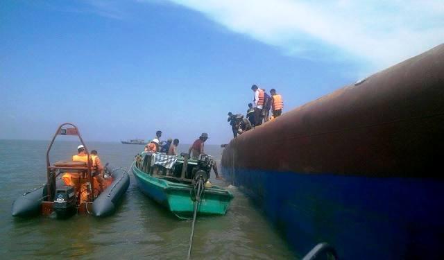 Tàu chìm ở Cần Giờ: Cuộc tìm kiếm gặp bế tắc - 7