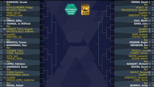 Phân nhánh Paris Masters: Thử thách Djokovic - 3