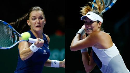 """WTA Finals: Khuất phục""""ngựa ô"""", Radwanska vào chung kết - 1"""