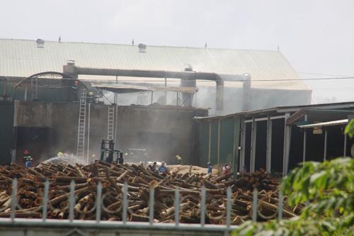 Quảng Trị: 18 ngày, xảy ra 2 vụ cháy ở KCN Nam Đông Hà - 1