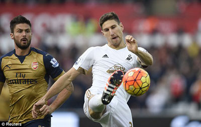 Chi tiết Swansea - Arsenal: Vỡ trận (KT) - 3