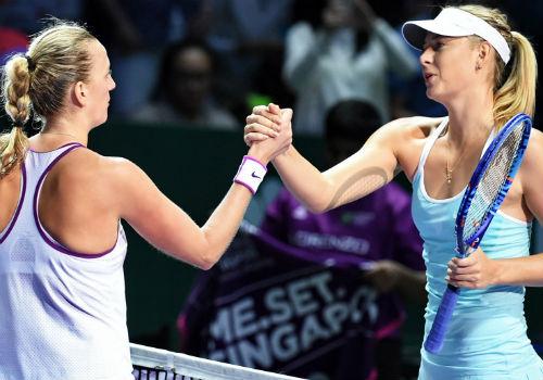 Sharapova - Kvitova: Nỗi ám ảnh (BK WTA Finals) - 1
