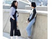 Thời trang jean - Quần jeans ống lửng hớp hồn phái đẹp toàn thế giới