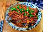 Ẩm thực - Cà tím xào thịt cay ngon cơm cho cả nhà