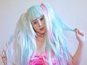 Bạn trẻ - Cuộc sống - Cô gái xinh đẹp tự biến mình thành nhân vật hoạt hình