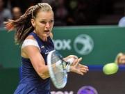 """Tennis - WTA Finals: Khuất phục""""ngựa ô"""", Radwanska vào chung kết"""