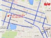 Tin tức trong ngày - HN: Chi tiết 13 tuyến phố phân luồng phục vụ Đại hội Đảng