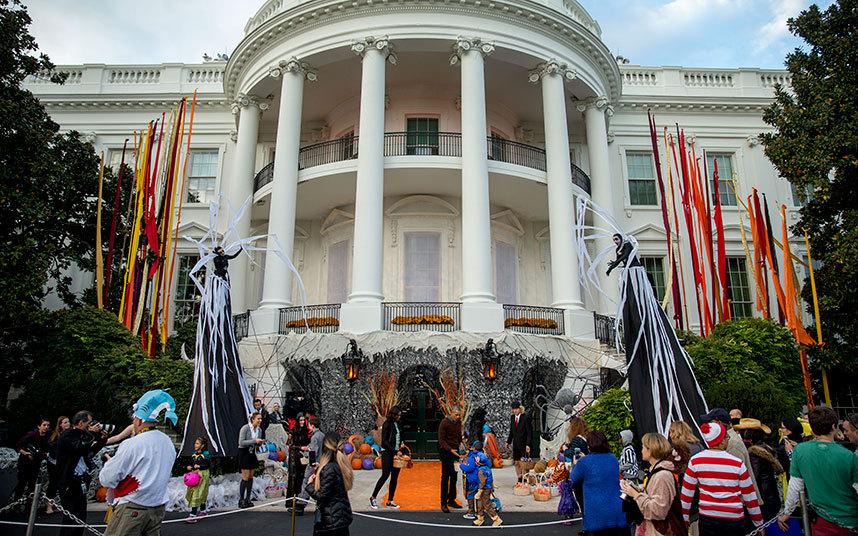 Không khí ma quái trong lễ hội Halloween trên khắp TG - 1