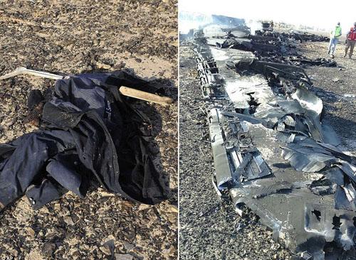 Hiện trường máy bay Nga chở 224 người rơi vỡ vụn - 4