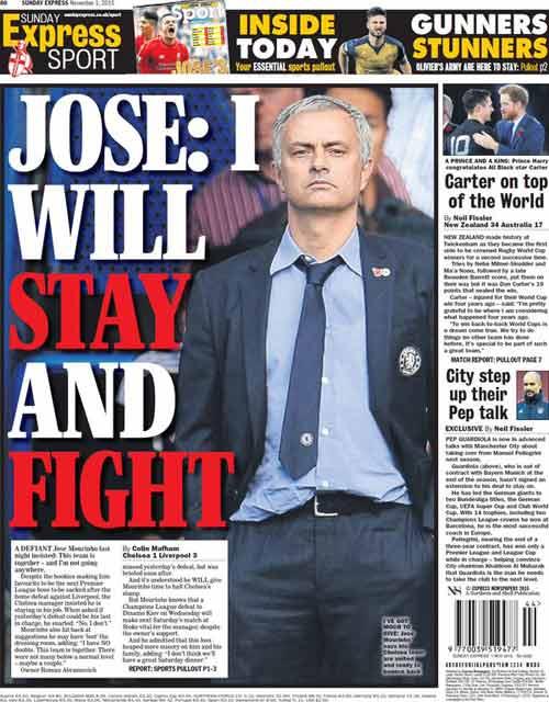 """Mourinho sắp nhận """"quà chia tay"""" gần chục triệu bảng - 1"""