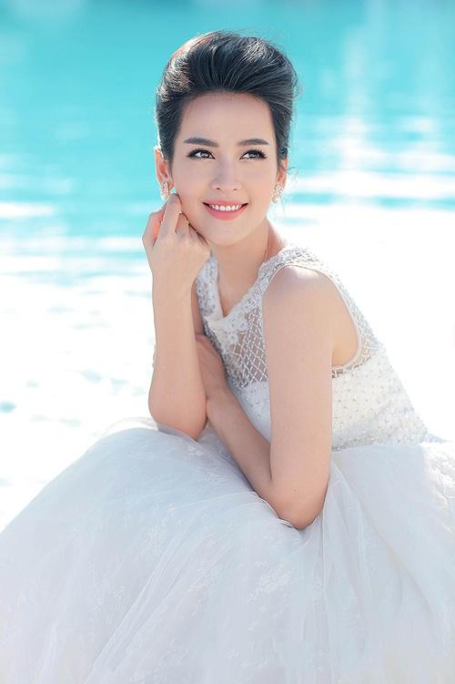 Tú Vi đẹp tựa thiên thần trong bộ ảnh cưới - 2