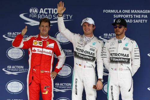 Phân hạng Mexican GP – Pole thứ 4 liên tiếp cho Rosberg - 1