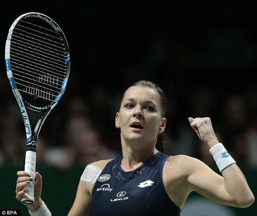 Kvitova – Radwanska: Kịch tính cao độ (CK WTA Finals) - 1