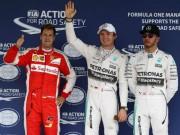 Thể thao - Phân hạng Mexican GP – Pole thứ 4 liên tiếp cho Rosberg