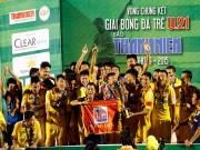 Bóng đá - CK U21 Clear Men Cup: Hà Nội T&T lên ngôi đầy cảm xúc