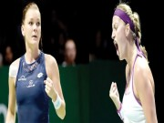 Thể thao - Kvitova – Radwanska: Kịch tính cao độ (CK WTA Finals)
