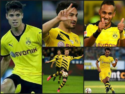 """Barca nhăm nhe chiêu mộ """"ngũ hổ tướng"""" của Dortmund - 1"""