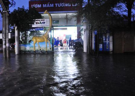"""Ảnh: Mưa lớn, Sài Gòn lại ngập trong """"biển nước"""" - 16"""