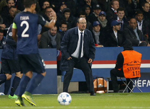 "Real Madrid – PSG: ""Bức tường"" Benitez - 1"