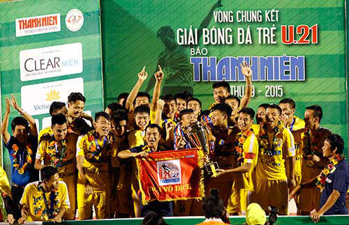 Thành lập đội U-21 Việt Nam dự giải U-21 quốc tế báo Thanh Niên - 1