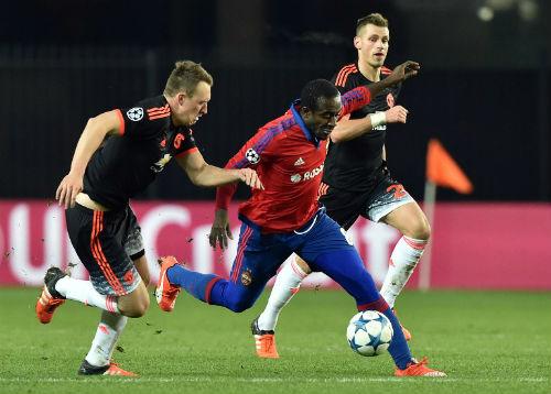 MU vs CSKA - 2