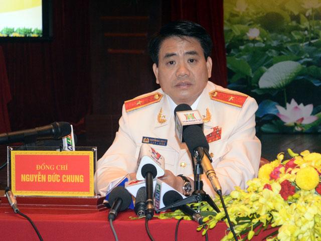 Giới thiệu Thiếu tướng Nguyễn Đức Chung làm Chủ tịch Hà Nội - 1