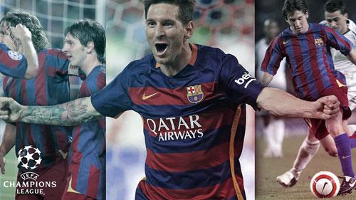 Messi & 10 năm tại cúp C1: Hành trình vĩ đại - 1