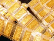 Tài chính - Bất động sản - Giá vàng thế giới liên tục đi xuống trong 4 phiên