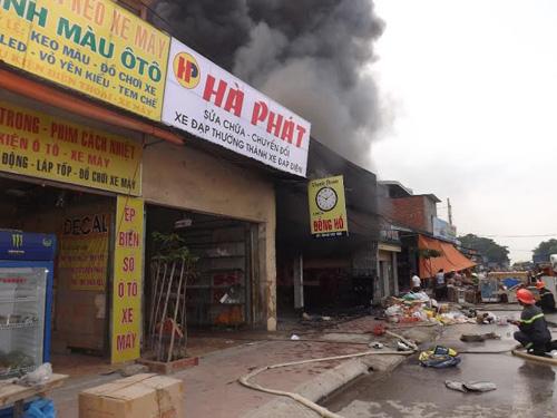 Vụ cháy lớn ở Nghệ AN - 2